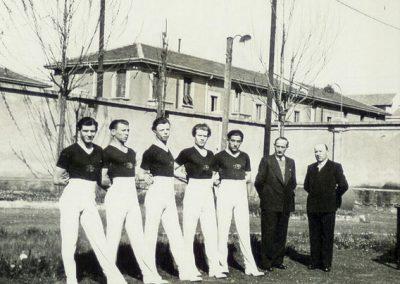 Ginnasti della Robur et Virtus alla fine degli anni '30